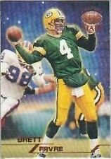 Topps Brett Favre Green Bay Packers Original Football Cards