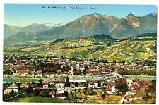 CPA 73 Savoie Albertville  vue générale