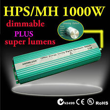 Hydroponics 1000w Growlush Digital Ballast for MH/HPS lamps Grow lighting