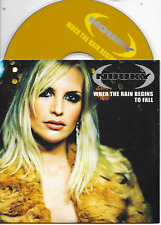 NOUKY - When the rain begins to fall CD SINGLE 2TR Eurodance 2003 Dutch Cardslv