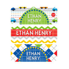 Waterproof Name Labels, Baby Bottle, Daycare, School, Cars, Airplanes, Boy