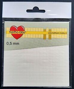 3D-Klebepads 400 Stück weiß (Foam Pads) 0,5 mm