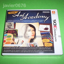 NEW ART ACADEMY NUEVO Y PRECINTADO PAL ESPAÑA NINTENDO 3DS
