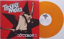 Troublemakers-Göteborg LP orange vinyle attentat anti Cimex perverts GBG sound