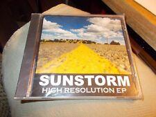 SUNSTORM CD HIGH RESOLUTION EP BRAND NEW SEALED