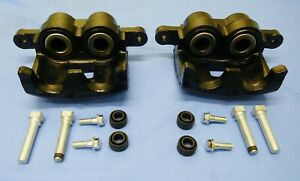NEW FRONT RH & LH BRAKE  CALIPERS & PINS SUIT HOLDEN RA  4WD  RODEO 2003-2007