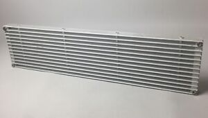 Aluminium Alloy Air Vent Ventilation Grille Louvered Grill Cover Thick 600x140mm