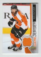(59433) 2014-15 UPPER DECK SERIES 1 GAME JERSEY SEAN COUTURIER #GJ-CO