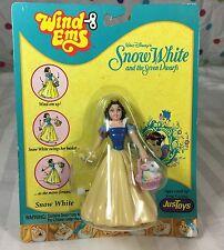 "Disney Snow White and the Seven Dwarfs ""Wind Ems"" Toy Figure NIB"