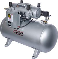 Gast Air Compressor Oil Less Dental Lab Model 7hdd 70ta M750x