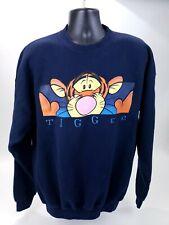 Vintage Disney Store TiggerPull Over Sweatshirt