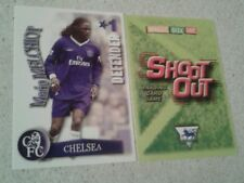 SHOOT OUT CARD 2003/04 (03/04) - Green Back -Chelsea - Mario Melchiot
