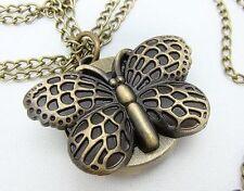 Butterfly Quartz Costume Necklaces & Pendants