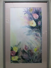 Original Watercolor Painting by Janet Emmert - Botanical - Large - Signed