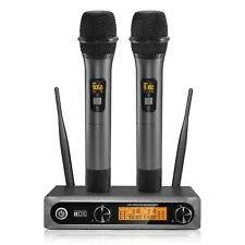TONOR  TW820, Wireless Microphone Dual Professional UHF Cordless System