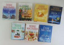 Debbie Macomber Christmas Novels Lot of 7 Romance Winter Holiday Women's Fiction
