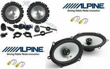 Alpine SXE1750S/SXE-5725S Set 6 Arcas Fiat Multipla + Conn Altavoces Coche