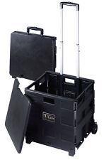 Craig Electronics TCC604 Craig Tcc604 Versatile Folding Storage Cart With Wheels