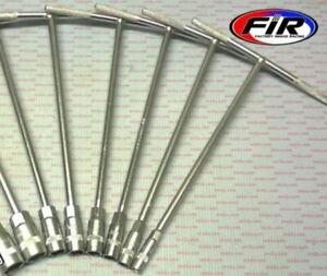FIR Deep Socket 8 Tee Bar Set Motorcycle Motocross 8,10,11,12,13,14,17,19mm