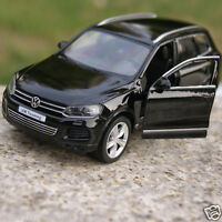 "Volkswagen Touareg 5"" Model Cars 1:36 Toys Car Kids Gifts Alloy Diecast Black"
