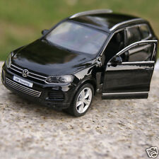 "Volkswagen Touareg 5"" Model Cars 1:36 Alloy Diecast Toys Car Kids Gifts Black"