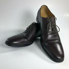 Cole Haan Mens Adams Cap Oxford II Leather Shoe, Mahogany, US 11.5