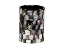 """4"""" Modern Marble Mosaic Elegant Glass Mother of Pearl Inlay Christmas Decor E321"""
