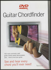 Chordfinder for Acoustic Guitar DVD Learn How To Play Chords