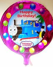 """Thomas The Tank round foil balloon 18""""(45cm) birthday party **AU Seller!"""