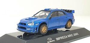 1/64 CM's 2005 SUBARU IMPREZA WRX STI WRC BLUE street ver. diecast model *READ