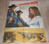 A1 Filmplakat  DIE GLORREICHEN REITER  ,TOM TRYON HARVE  PRESNELL,SENTA BERGER