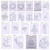 NEW Metal Crafts Cutting Dies Embossing Scrapbooking Stamp Stencil Paper Cards