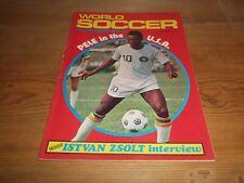 Football Magazine World Soccer September 1975 Zsolt Real Madrid West Germany