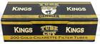 Gambler Gold Light TUBE CUT King Size 10 Boxes 200 Tubes Box Cigarette Fast