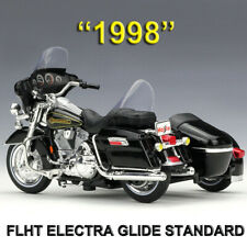 Harley-Davidson FLHT ELECTRA GLIDE STANDARD 1998 1:18 Motorcycle Diecast Model