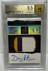 2003-04 Exquisite Collection Gary Payton Limited Logos Patch Auto #d/75 BGS 9.5!