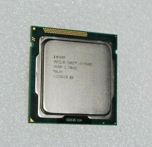 INTEL QUAD CORE I5-2500S 2.70GHZ 6M CACHE CPU PROCESSOR SR009 LGA1155 3.70GHZ