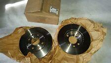 Original GM Bremsscheibensatz Bremsscheibe VORNE FRONT Brake disc kit Rekord E