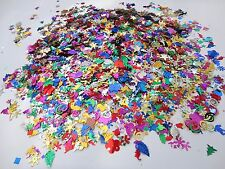 50g BAG LOOSE MIXED SIZED AND DESIGN SEQUINS CRAFT SEWING 1000+  IN PACK