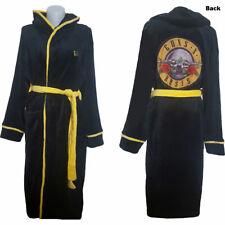 More details for guns n' roses unisex bathrobe: classic logo  bath robe, dressing gown