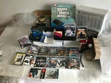 PS3 500GB Slim with Grand Theft Auto V + box + 16 further games + other goods
