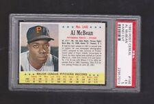 1963 POST CEREAL #146 AL MCBEAN PSA 5 EX BASEBALL CARD