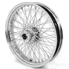 "80 SPOKE 21"" CHROME FRONT WHEEL 00-07 HARLEY ELECTRA GLIDE ROAD KING STREET"