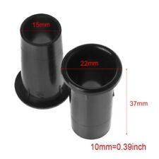 "2PCS Speaker Tube Bass Reflex Vent Ventilation Connector 2-3"" 18x37mm Subwoofer"