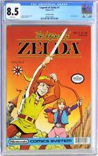 LEGEND OF ZELDA 1 CGC 8.5 VALIANT 1991