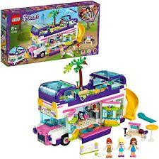 LEGO Friends Bus de la Amistad Set Construcción de Autobús con Piscina y Tobogan