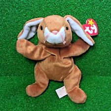Ty Beanie Baby Ears The Rabbit PE Plush Toy Easter Special MWMT - FREE Shipping