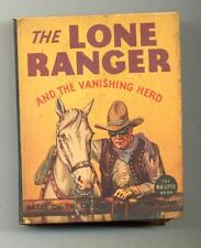 The Lone Ranger and the Vanishing Herd    Big Little Book   1936