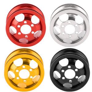 4Pcs Aluminium Alloy Remote Control Car Wheel Hub Short Adapter Parts WPL 1/16