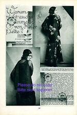 20s fashion 2 p. 1930 report Austria actress Tala Birell & René Peter dress